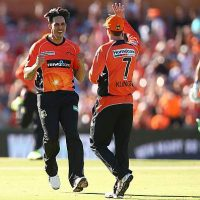 Mitchell Johnson has resigned by Perth Scorchers for upcoming season of Big Bash League