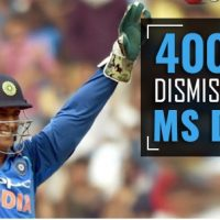 India's MS Dhoni completes 400 dismissals in limited-overs cricket